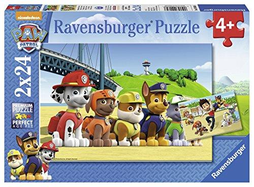 Preisvergleich Produktbild Ravensburger 09064 - Heldenhafte Hunde