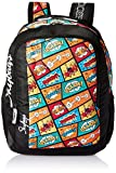 Skybags Polyester 30 Ltrs Black Casual Backpack (BPHELPF1BLK)