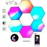 Sechseck Wandleuchte, Smart LED Licht Wandpanel APP Steuerung Musik Sync, 16 Millionen Farben Modulares Licht RGB Nachtlicht