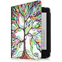 Fintie Kindle Paperwhite Étui Housse - Folio Case Cover Protection étui Housse fermeture magnétique avec mise en veille automatique pour Amazon All-New Kindle Paperwhite (Convient à touts les versions: 2012, 2013 et 2015 New 300 PPI) - Love Tree