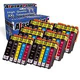 30x Druckerpatronen Kompatibel für Epson T26 xl 26xl T2621 xl T2621xl Multipack für Epson Expression Premium XP-510 XP-820 XP-610 XP-520 XP-625 XP-700 XP-600 XP-615 XP-800 XP-620 XP-720 XP-710 XP-605 XP-810 Tintenpatronen Tinte Drucker Patronen