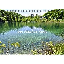 Die Plitvicer Seen (Tischkalender 2019 DIN A5 quer): Der Nationalpark PLITVICKA JEZERA in Kroatien mit herrlichen Seen und Wasserfällen. (Monatskalender, 14 Seiten)