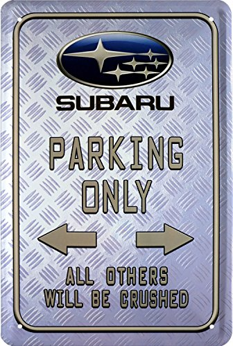 subaru-parking-only-car-auto-pared-cartel-cartel-de-chapa-20-x-30-retro-chapa-507