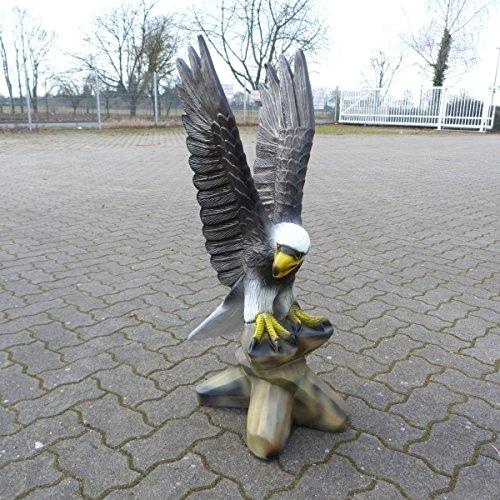 Adler – Adlerfiguren – Steinadler – Gartenfiguren – Tierfiguren – T010