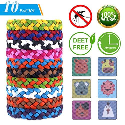 TEPSMIGO Mückenschutz Armband, Mückenarmband, Moskito Armband, 15 Stück Anti mücken Armband für Erwachsene und Kinder