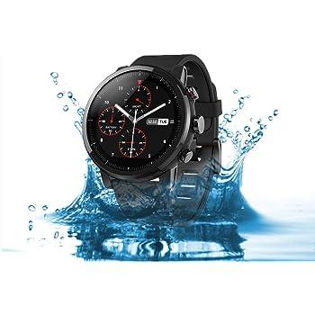 Xiaomi Amazfit Stratos 2, Smartwatch con GPS Glonass, Cardiofrequenzimetro, Bussola, Notifiche, Impermeabile