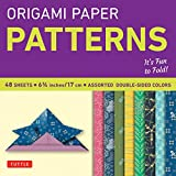 Origami Paper - Patterns - Small 6 3/4' - 49 Sheets: Tuttle Origami Paper: High-Quality Origami Sheets Printed with 8 Different Designs: Instructions for 6 Projects Included (Origami Paper Packs)