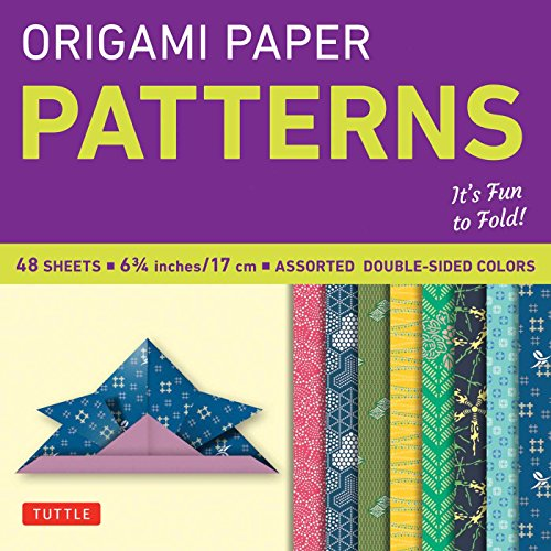 "Used, Origami Paper Patterns 6 3/4"" 48 Sheets (Origami Paper for sale  Delivered anywhere in UK"