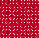 Tapete Punkte Rot - 115742 - von ESTAhome.nl