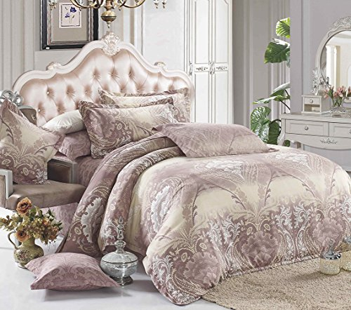 3 piece duvet cover pillow cases bedding set cotton polyester blend king size