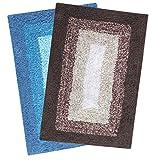 #6: Saral Home Soft Cotton Anti Slip Bathmat (Pack of 2, 40x60 Cm)