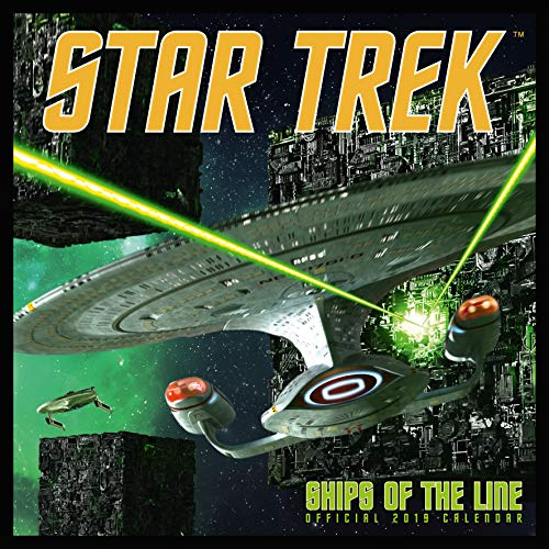 Star Trek: Ships Of The Line Official 2019 Calendar - Square por Star Trek: Ships Of The Line