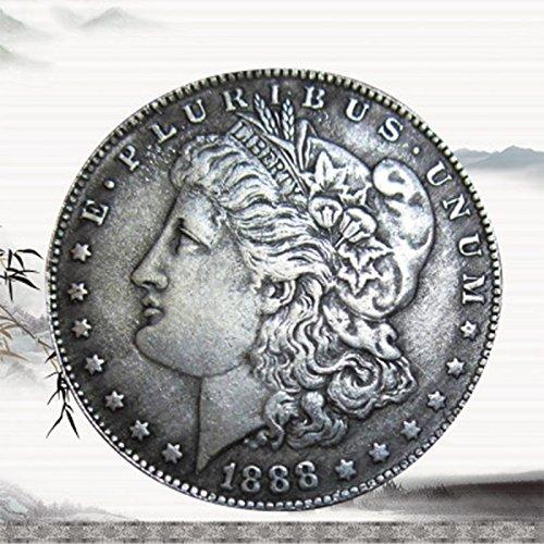 Tiptiper USA Morgan Münze Silber Dollar Sammlung Antike Dollar Souvenir Display Amerikanischen Ein-dollar-münze