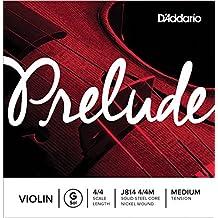 D'Addario Orchestral Prelude - Cuerda individual Sol para violín, escala 4/4, tensión dura