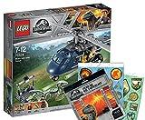 Jurassic World Lego 75928 - Blue's Hubschrauber-Verfolgungsjagd Stickerbogen, Cooles Kinderspielzeug