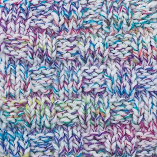 Gründl 3422-03 Alaska Print, Avantage Pack de 10 à Tricoter 100 g Fil Tricoté à la Main 80% polyacrylique et 20% Coton, Carnaval, 40 x 37 x 11 cm