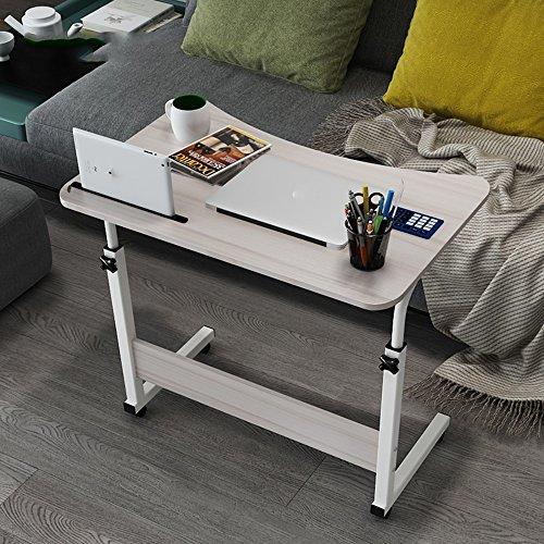 ZXQZ Klapptisch Abnehmbare Computer Schreibtisch Einfache Nachttisch Student Kleine Schreibtisch 3...