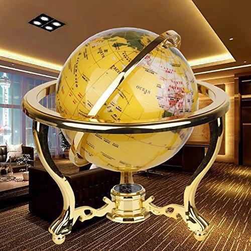 STOWNN Globe Büro Deko Dekoration Deko Raum Wohnzimmer TV-Schrank zu senden Lehrer Creative Geschenke Crafts, Gold Tuba