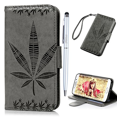 for-samsung-galaxy-s6-edge-leather-case-maxfeco-maple-leaf-pattern-embossed-pu-leather-case-cover-wi