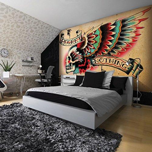 Diseño de papel pintado mural de papel pintado de la imagen de...