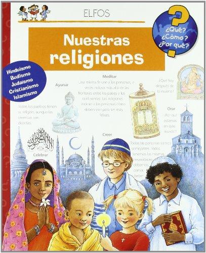 Portada del libro ¿Qu'?... Nuestras religiones (¿Qué?)
