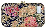 Tooba Women's Clutch (Navy Blue)