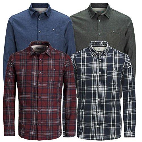 Jack & Jones Men's Jornew Christopher LS Casual Shirt