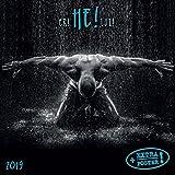 CALENDRIER 2019 SEXY HOMME EROTIQUE - HOMME NU SEXE - AVEC MAXI POSTER 30X60cm (tsh lui) + offert un agenda de poche 2019