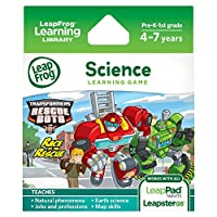 LeapFrog Explorer Learning Game - Transformers Rescue Bot...