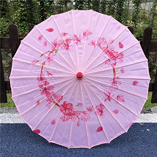 Ombrelli per decorazioni nozze costumi fatti a mano ombrello da donna in carta ollare pioggia panno di seta ombrello classica danza ombrello cheongsam spettacolo performance ombrello decorazione omb