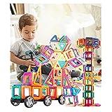 Magnetische Bausteine Regenbogen Set Inspirierender Standard Baukasten Bausatz Kreative und Pädagogische Spielzeuge B (145 PCS)
