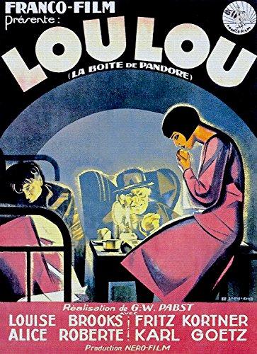 "Price comparison product image ODSAN Loulou (Pandoras Box),  Louise Brooks & Fritz Kortner,  1929 - Premium Movie Poster Reprint 20"" by 28"" Unframed"