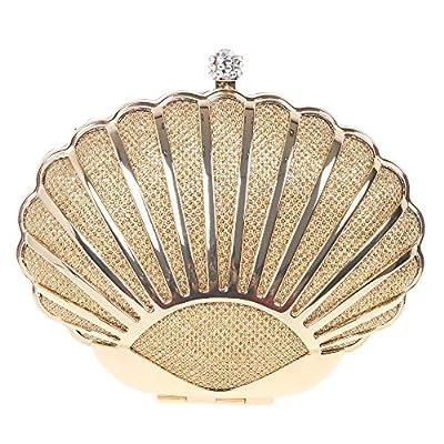 Bonjanvye Mini Seashell Purses For Women Clutch Handbags For Girls