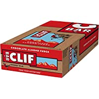 Clif Bar Energieriegel Chocolate Almond Fudge, 12er pack (12 x 68g)