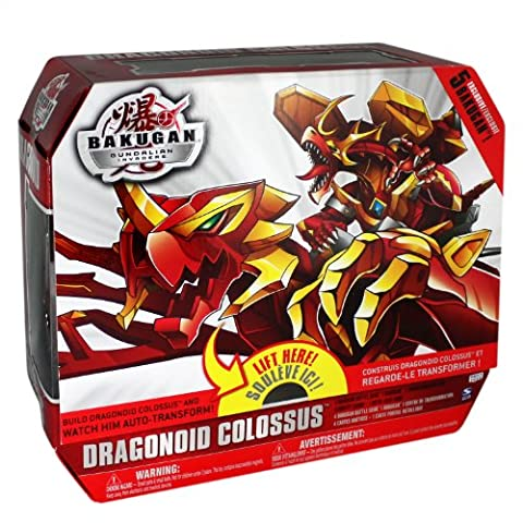 Bakugan - Gundalian Invaders - Figurine Dragonoid Colossus 6 en