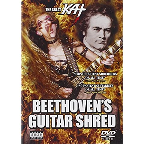 The Great Kat - Beethoven's Guitar Shred