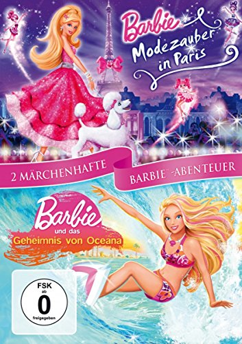 Modezauber in Paris & Barbie und das Geheimnis von Ozeana (2 DVDs)