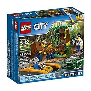 Lego City Starter set della Giungla 60157 (88 Pezzi) 0673419264853 LEGO