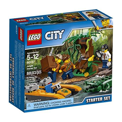 Lego City Dschungel Starter Set 60157 Building Kit (88 - Dschungel Labor Lego