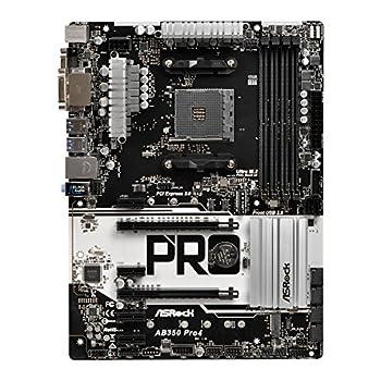 Asrock Ab350 Pro4 Mainboard Mit Chip Schwarz 3