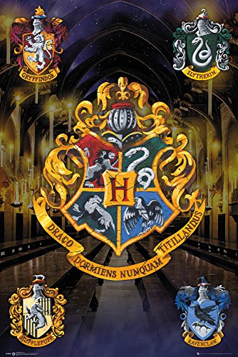 GB Eye LTD, Harry Potter, Escudos Poster, Maxi Poster