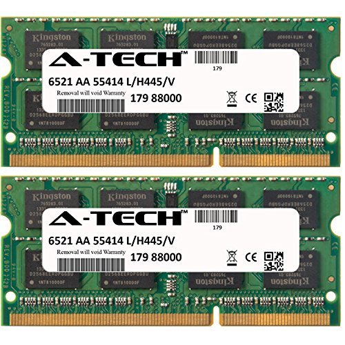 16gb Kit (2 X 8gb) For Dell Latitude Series 6430u E5430 E6230 E6430 E6430s E6530 E6540 E7240 E7440. So-dimm Ddr3 Non-ecc Pc3-12800 1600mhz Ram Memory. Genuine A-tech Brand.