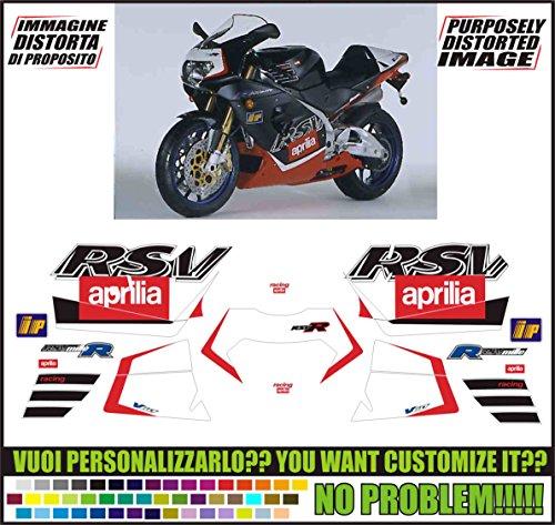 Kit adesivi decal stickers APRILIA RSV 1000 R 2000 (ability to customize the colors)