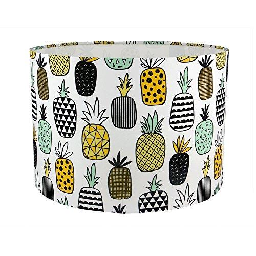 pineapple-fabric-handmade-drum-lampshade