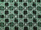 Quadrate gewebter Metallic-Brokatstoff, Smaragdgrün,