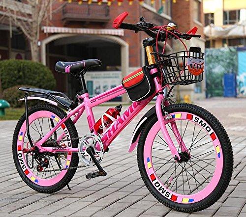 Civilweaeu Biciclette Per Bambini 6 7 8 9 10 14 Anni Passeggino Ragazzo Femmina La Mountain Bike Da 2022 Pollici Per Studenti Colore Rosa