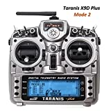 Frsky Taranis X9D Plus Radiocomando RC Trasmettitore 16 Canali a 2.4GHz ACCST RC Transmitter for Droni Quadricotteri FPV Racing RC Drone Quadcopter by LITEBEE ( Mode 2 Acceleratore a Sinistra )