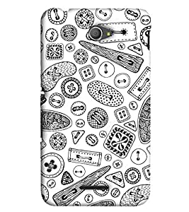 EagleHawk Designer 3D Printed Back Cover for Sony Xperia E4 - D377 :: Perfect Fit Designer Hard Case