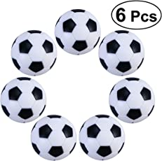 TOYMYTOY Foosballs Replacement Mini Soccer Balls Table Football Balls 32mm 6PCS