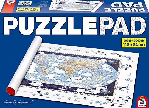 Preisvergleich Produktbild Schmidt-Spiele 57988 - Puzzle-Pad bis 3000 Teile - Zubehör Unterlagen & Aufbewahrung